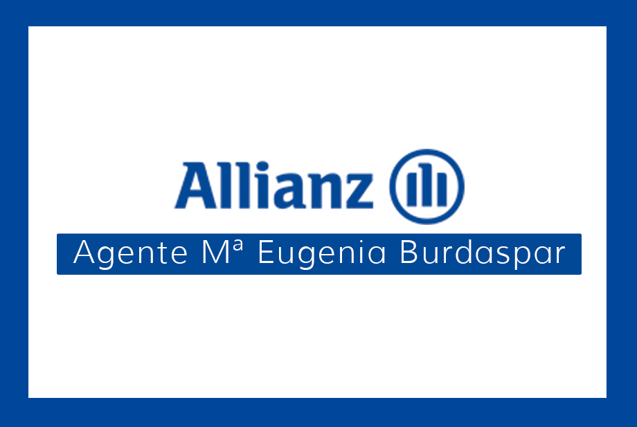 ALLIANZ SEGUROS - AGENTE Mª EUGENIA BURDASPAR